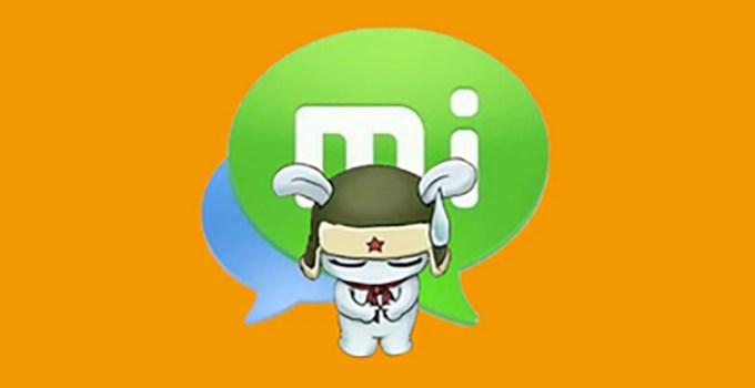 Xiaomi Hentikan Layanan MiTalk