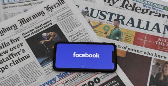 Facebook Blokir Tautan Berita Media Australia