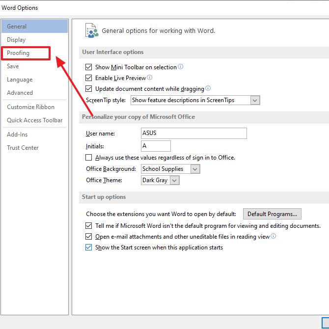 klik proofing