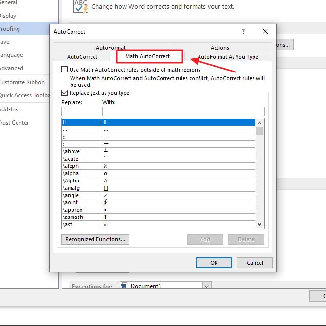 Cara Mengaktifkan Autocorrect di Microsoft Word 2016