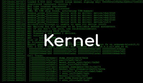 Jenis-jenis kernel