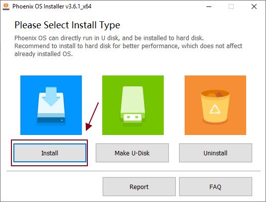Cara Install Phoenix OS di Windows 10