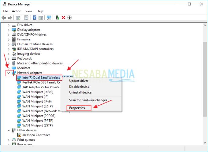 cara mengatasi wifi laptop yang tidak terdeteksi di windows 10