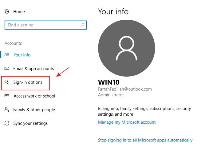 cara membuat password pada laptop asus windows 10