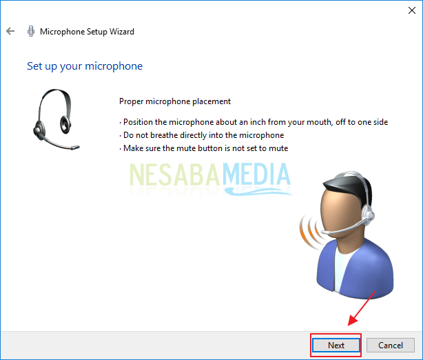 Mengaktifkan Microphone Melalui Windows Settings
