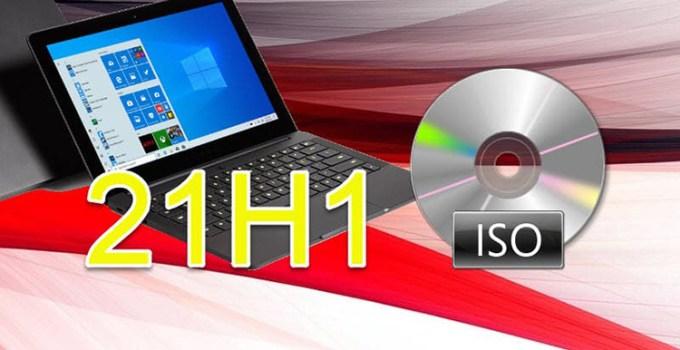 File ISO Windows 10 Versi 21H1