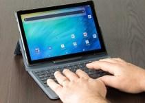 Kingpad K10 Tablet All-in-One Dengan Stylus dan Keyboard Bawaan