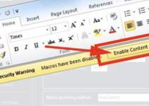 Malware Makro Berbahaya di Microsoft Excel