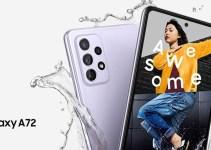 Samsung Galaxy A72 Smartphone 7 Jutaan Dengan RAM 8GB