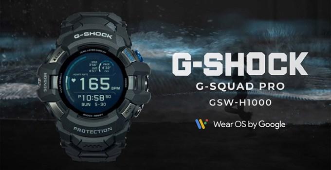 Casio Umumkan Smartwatch Baru G-Squad Pro GSW-H1000