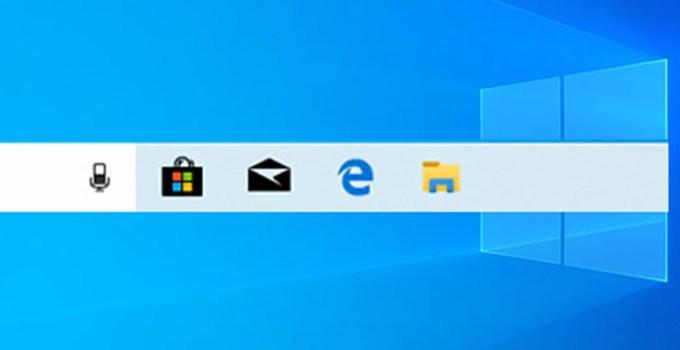Microsoft Ingin Ubah Menu Taskbar di Windows 10 Agar Lebih Ringkas