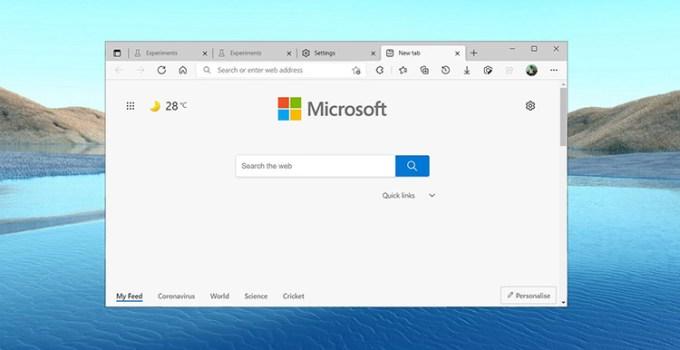 Tampilan Font di Browser Edge Akan Lebih Jelas Dengan Tambahan Fitur ClearType