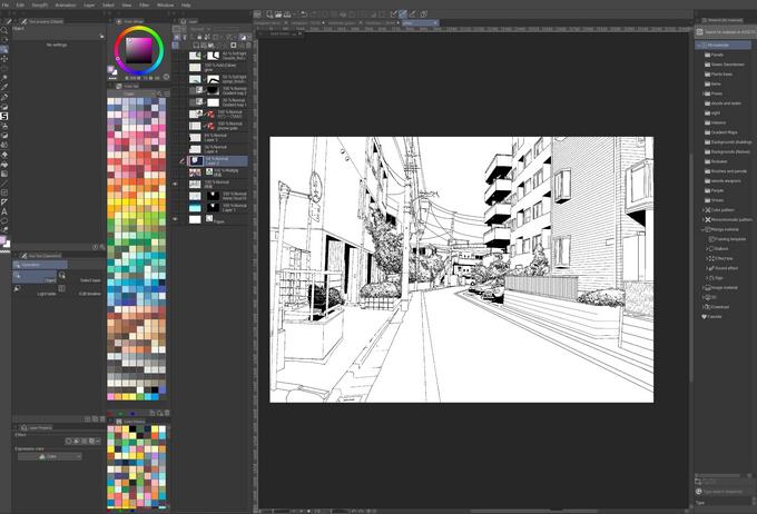 Apa Itu Clip Studio Paint EX?