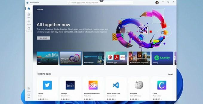 Lebih Dekat Melihat Microsoft Store Baru di Windows 11 dan 10
