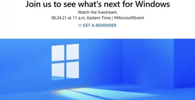 Microsoft Ungkap Generasi Berikutnya Windows di Event 24 Juni