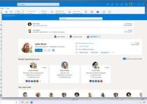 Tampilan Aplikasi Outlook Baru
