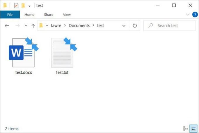 Tampilan File Yang Terkompres