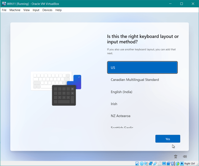 Untuk layout keyboardnya