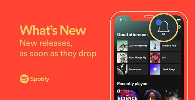 Fitur Feed Baru Spotify What's New Hadir di Perangkat Android dan iOS