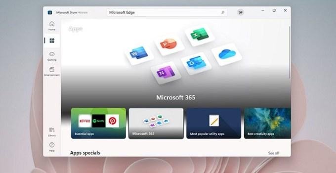 Microsoft Store di Windows 11 Tak Lagi Gunakan HTML