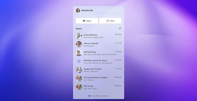 Perkembangan Aplikasi Chat Windows 11 Terintegrasi Taskbar Mendekati Perilisan