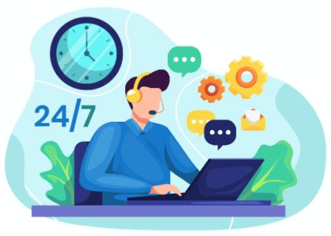 Customer Support 24 7