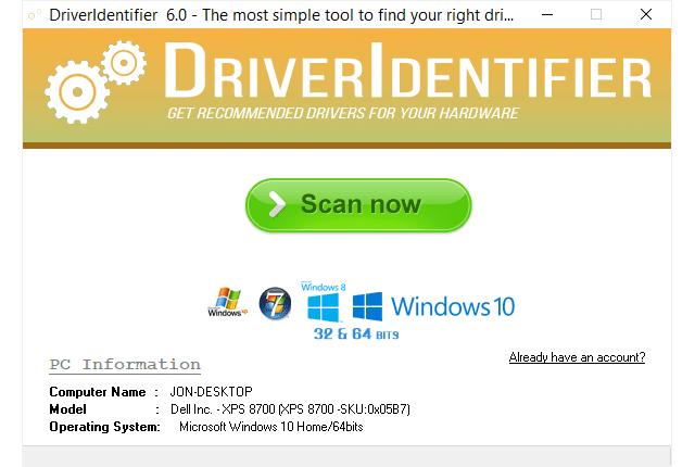 Driver Indentifier