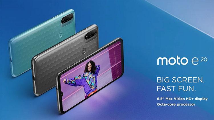 Motorola Umumkan Moto E20 Dengan Android 11 Go Edition Rp1 Jutaan