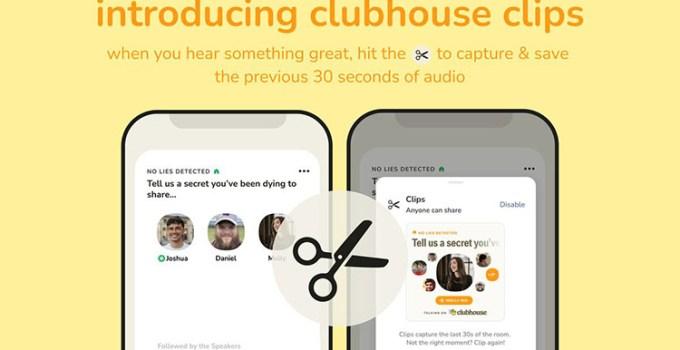 Fitur Baru di Clubhouse, Clips, Replay, Universal Search dan Audio Spasial