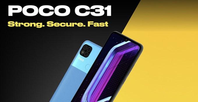 Poco C31, Smartphone Bertenaga Besar Dengan Harga Di Bawah 2 Jutaan