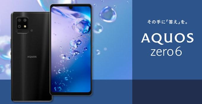 Sharp AQUOS Zero 6, Smartphone Android 5G Paling Ringan