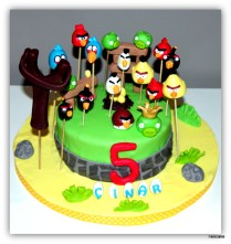 Angry Birds Cake- min 10 person