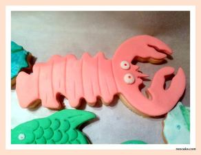 Lobster Cookies- min 10 pieces