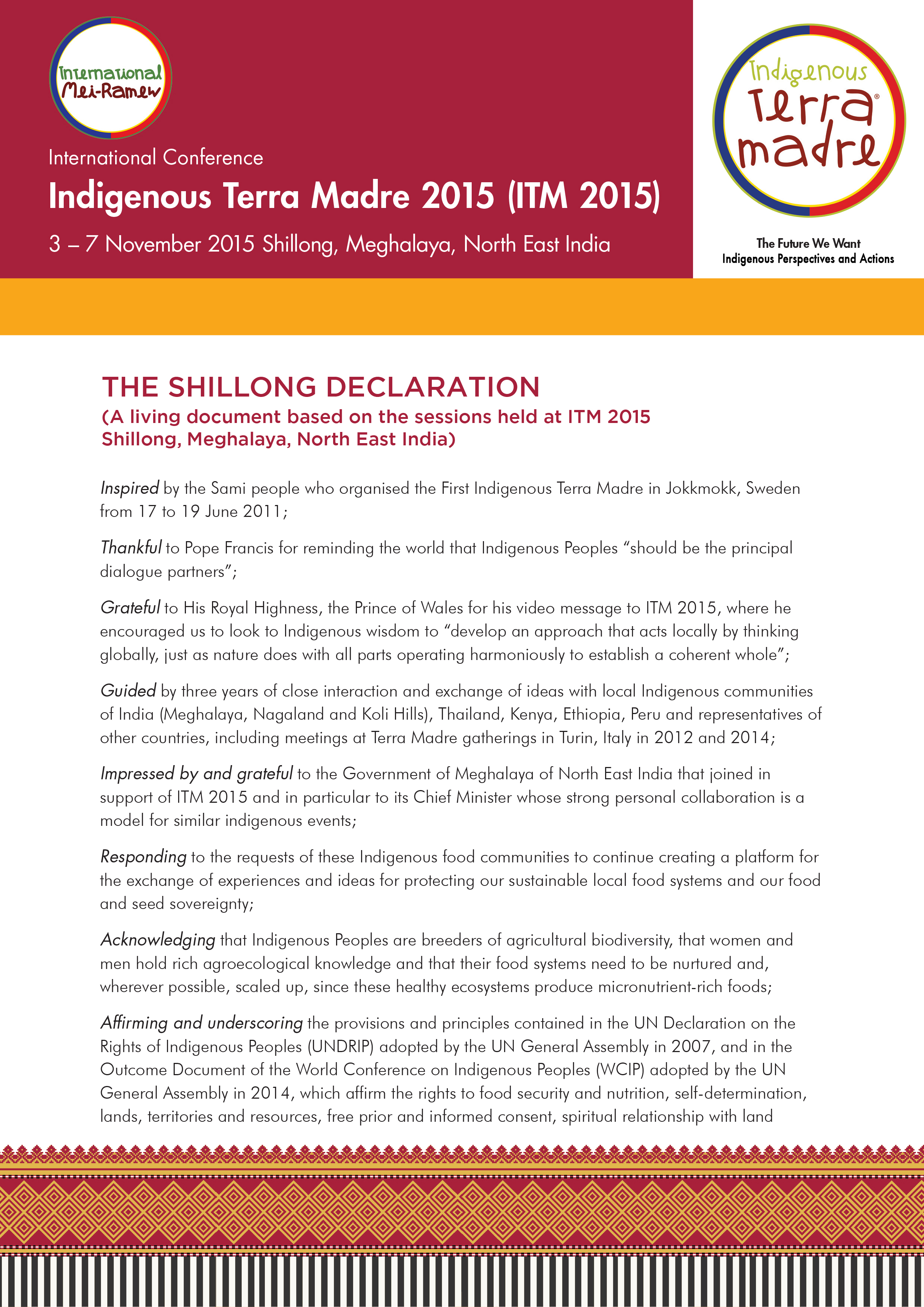 1 THE SHILLONG DECLARATION_English_7 March 2016-1
