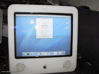 eMAC - Mac OSX 10.4. Tiger