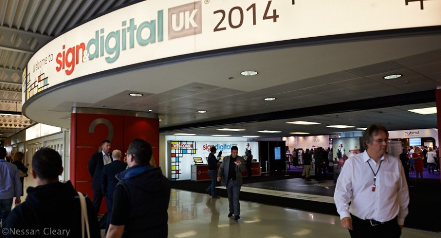 This year's Sign and Digital show was busy.