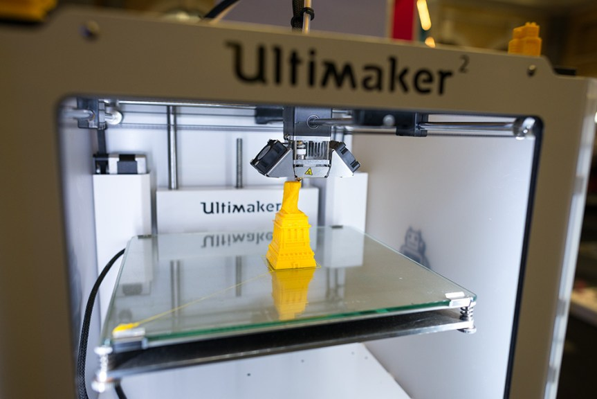 The Ultimaker 2 has proven to be popular, selling around 200 per month in the UK.