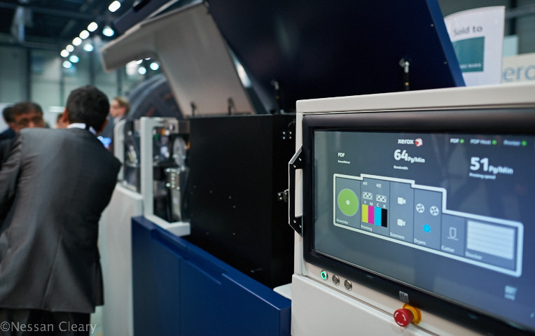 Xerox launched this Rialto 900, a roll to sheet inkjet based on the Genesis Concept that Impika showed at the last drupa.