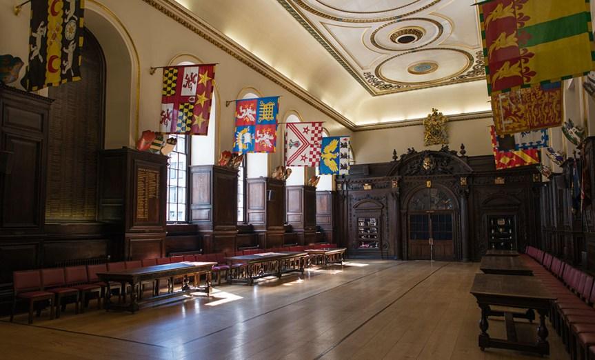 Stationers' hall, London.