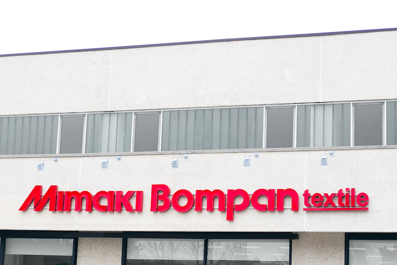 Mimaki joint textile venture with Bompan – Graphics to Industrial