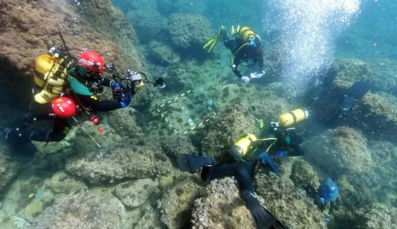Mergulhadores amadores descobriram tesouro