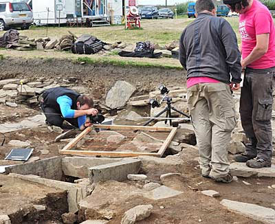 Tim Winterburn snaps archaeologists in action for the UHI.