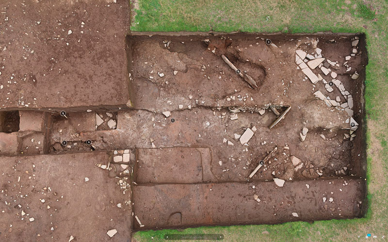 Dig Diary Extra – Trench T 3D Model – The Ness of Brodgar Excavations