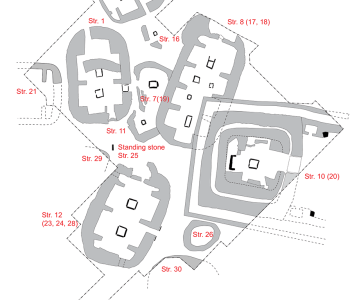 Updated Trench P plan