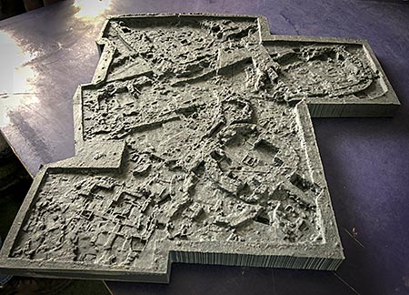 Jim and Mark's superb 3D model of Trench P.