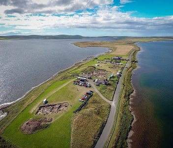 The Ness from above…