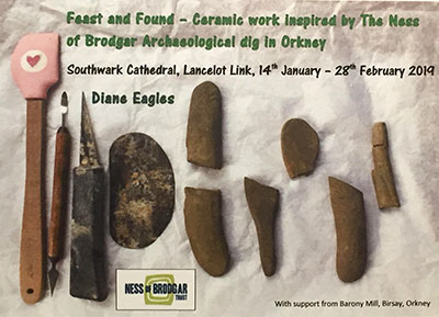 Feast and Found Exhibition. Southwark Cathedral, London.