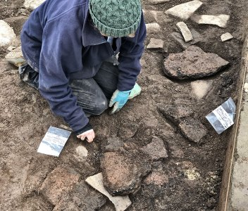 Dig Diary Extra – Trench X pottery spread
