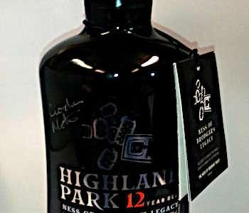 Festive fundraiser – Bottle of Ness whisky up for auction