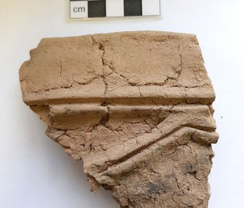 Pot sherd – before and after…